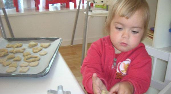 Baking activities toddlers kindergarten preschool Copenhagen Denmark